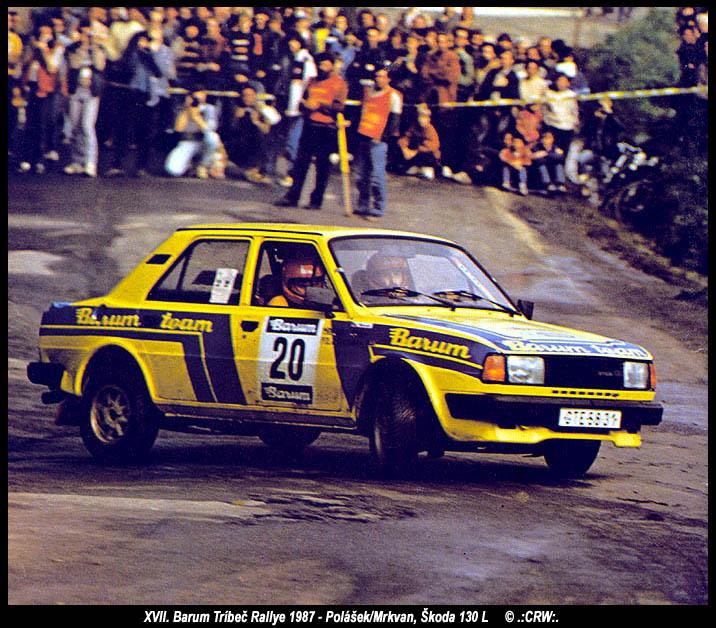 Barum Rally: XVII. Barum Tríbeč Rallye 1987